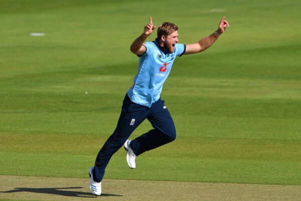 David Willey excited after England call-up for Ireland series