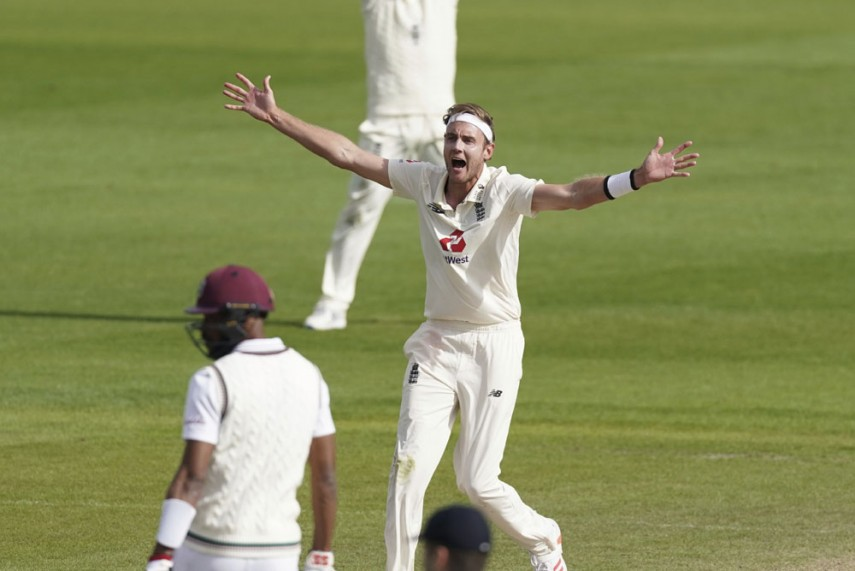 Stuart Broad became the 7th bowler to take 500 Test wickets on this day