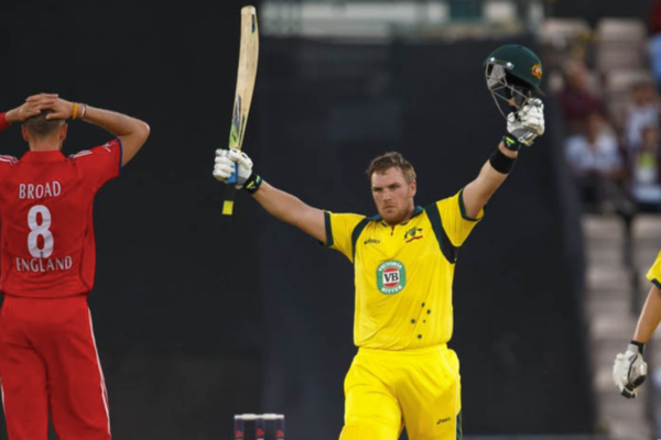 Aaron Finch smashed 156 runs in T20I against England