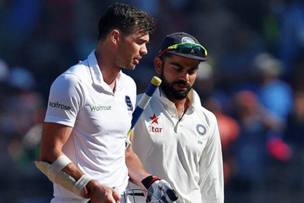 'It will be a tough battle'- James Anderson on facing Virat Kohli in 2021