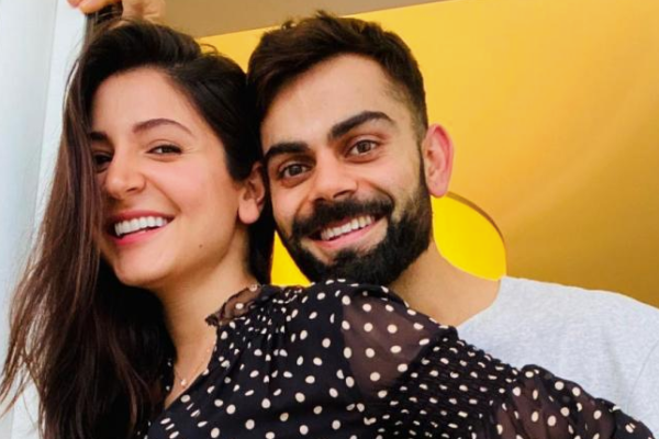 Virat Kohli shares picture of Anushka Sharma's baby bump. See Pictures!