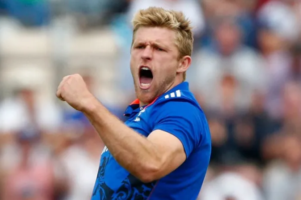 England cricketer David Willey tests positive for coronavirus