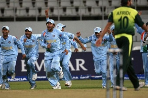 India defeated Pakistan in T20 World Cup in 2007