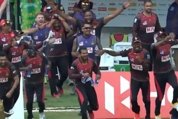 Trinbago Knight Riders win 4th title as they beat St Lucia Zouks