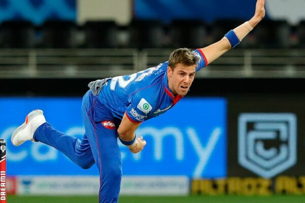 Anrich Nortje delivers the fastest bowl ever recorded in IPL