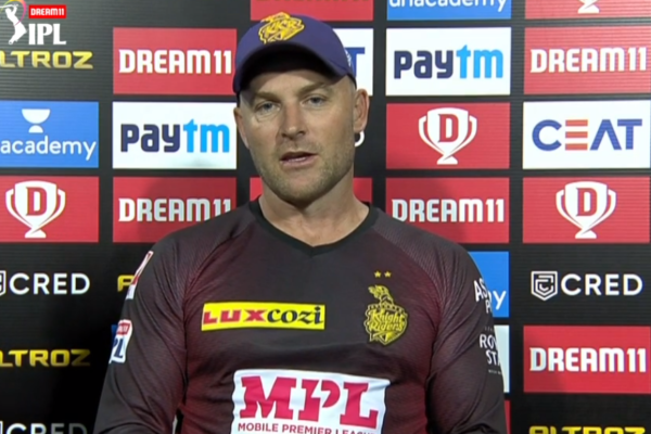 """IPL 2021: """"I just felt we were being paralysed by fear"""", says McCullum"""