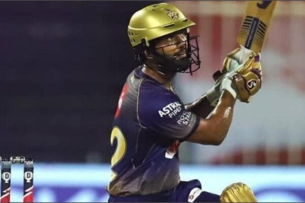 KKR player Rahul Tripathi reprimanded for breaching the IPL Code of Conduct
