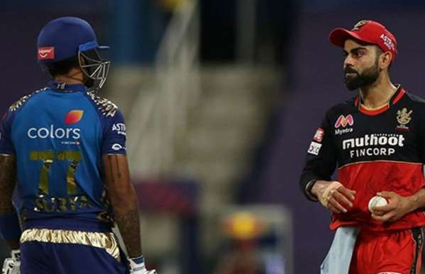 Suryakumar Yadav responds to Virat Kohli's sledging during MI vs RCB match