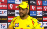 M S Dhoni expresses disappointed on his current form in IPL 2021