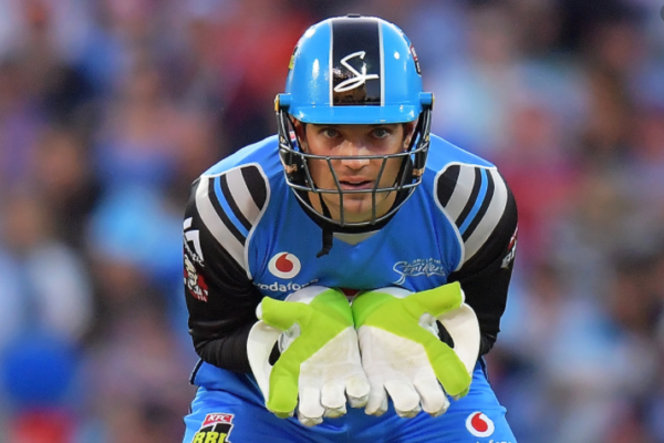 Adelaide Strikers re-sign Alex Carey for four seasons