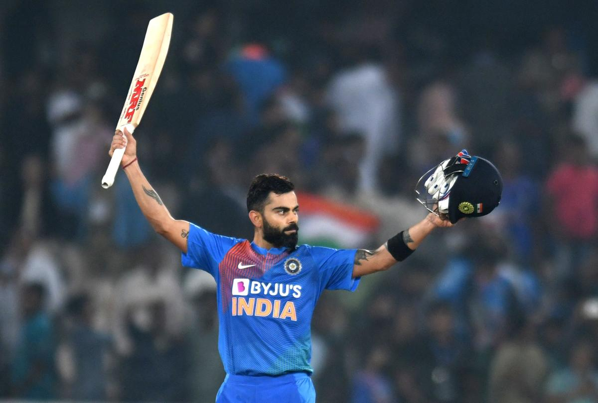 ICC T20I Rankings: Virat Kohli advances to the fourth spot