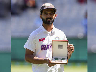 Ajinkya Rahane awarded the Mullagh Medal, becomes the first player to receive the honour