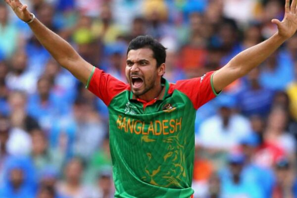 Mashrafe Mortaza back to training after recovering from injury