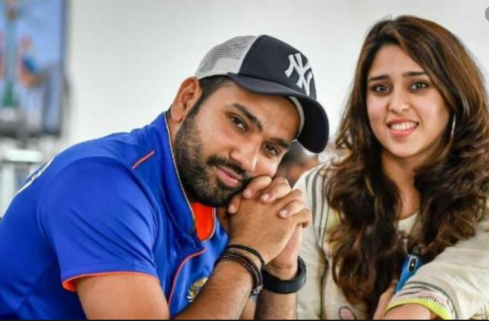 Rohit Sharma posts a heart-whelming message on his wife Ritika's birthday