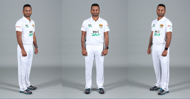Sri Lanka releases new jersey ahead of the Test series