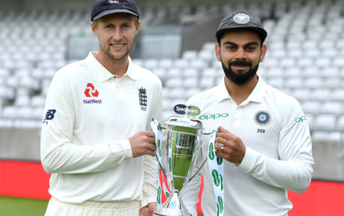 India vs England: ECB names a 16-player squad for Test series