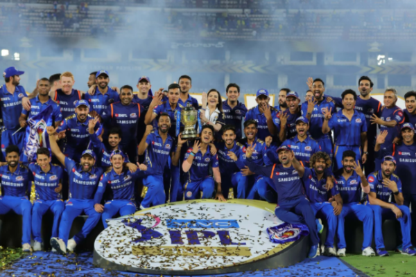 Mumbai Indians registers the highest growth in terms of brand value