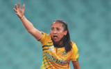 Shabnim Ismail climbs up to the second spot in the WT20I Rankings