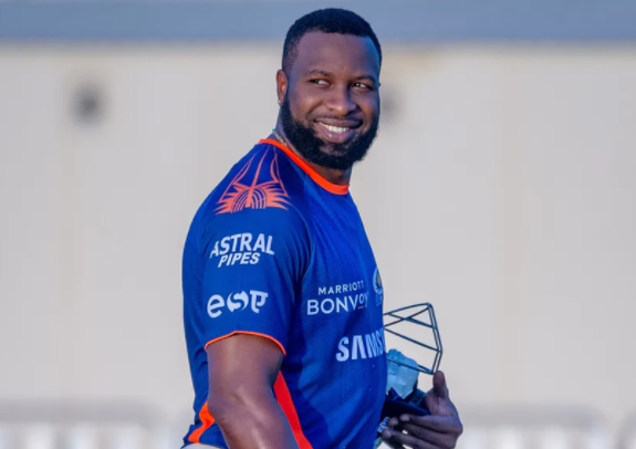 Kieron Pollard set to join MI squad after completing a seven-day quarantine period