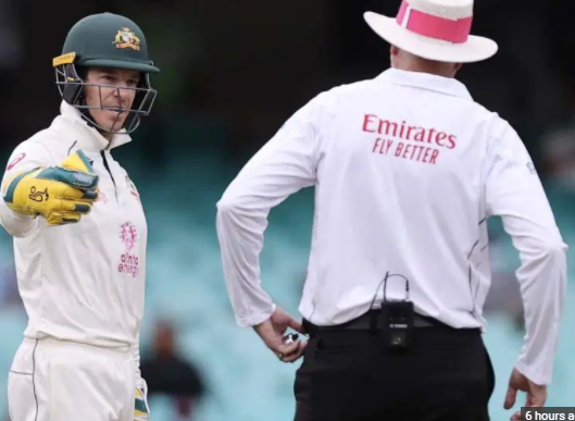 Tim Paine fined a 15% match fee for breaching the ICC Code of Conduct