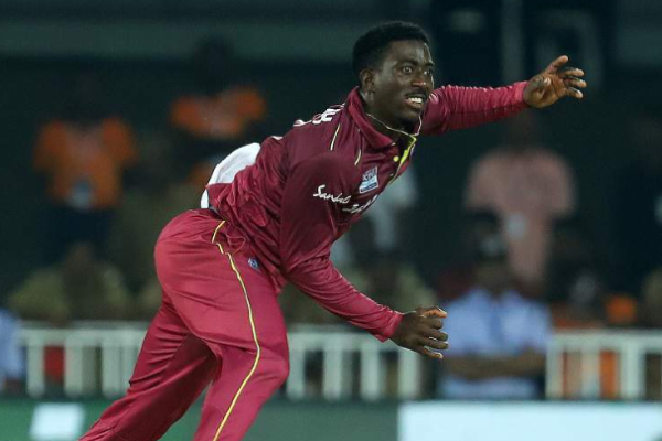 Hayden Jr. Walsh tests positive for COVID-19, out of ODI series