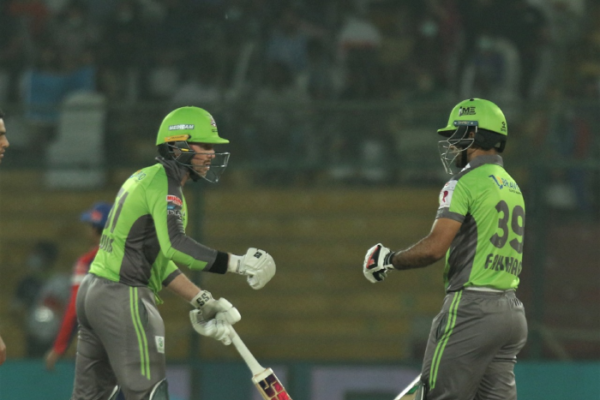David Wiese, Fakhar Zaman help Lahore Qalanders pull off six-wicket victory over Karachi Kings