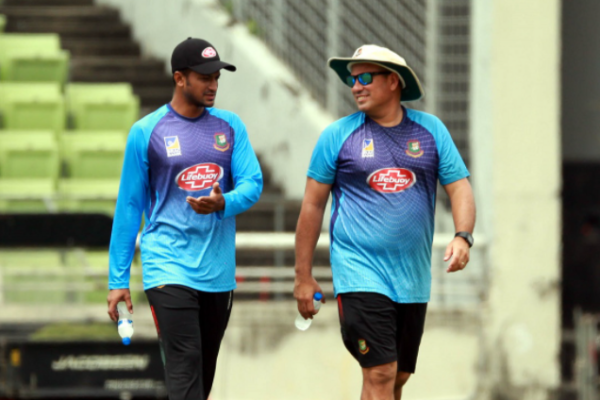 """Nobody can be forced to play in any format""- Russell Domingo on Shakib"