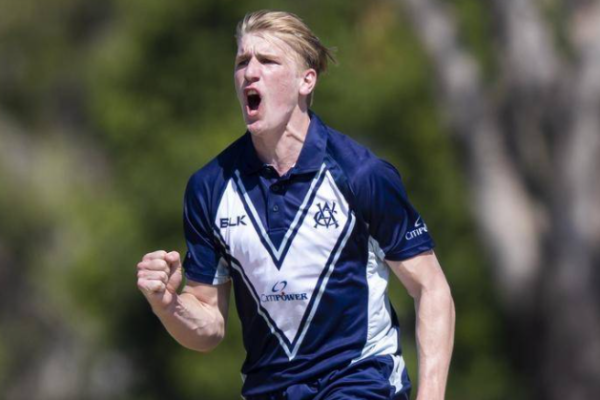 Melbourne renegades all-rounder Will Sutherland has become the recipient of the Bradman Young Cricketer of the Year Award.