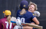 Elyse Villani's century helps Victoria cruise to a six-wicket victory over Queensland