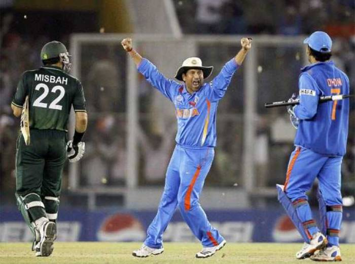 On this day, India defeated Pakistan to enter the final of the 2011 World Cup