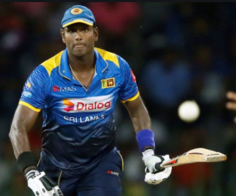SL VS WI: Angelo Mathews returns home due to personal reasons