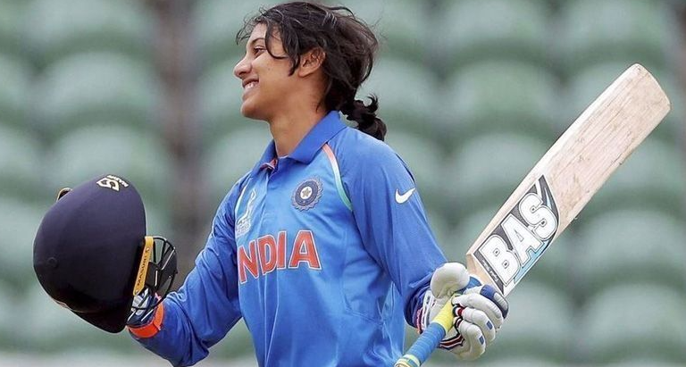 Smriti Mandhana registers a new record; becomes the 1st cricketer to hit 10 consecutive 50s