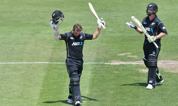 Tom Latham's century powers NZ to a 5-wicket win over Bangladesh in the 2nd ODI