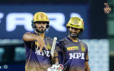KKR skipper Eoin Morgan praises batsmen for a competitive score in the win over SRH
