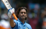 On this day, Dhoni smashed his first international century against Pakistan