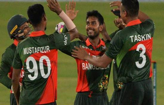 ICC ODI rankings Mehidy Hasan reacts after taking 2nd spot