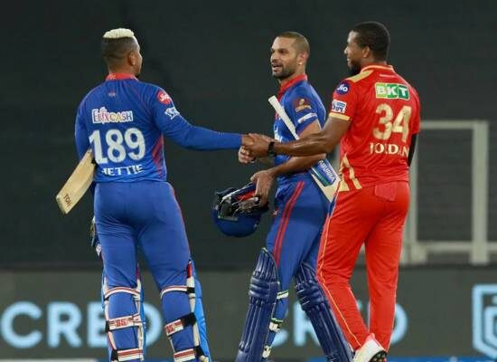 PBKS vs DC Shikhar Dhawan's special knock guides Delhi to the top of the table