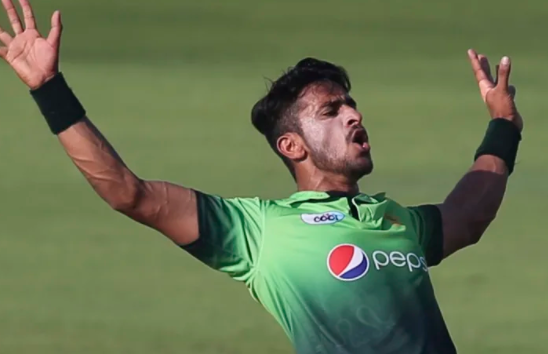 WATCH: Hasan Ali giving hilarious expression at Luke Jongwe leave everyone in splits