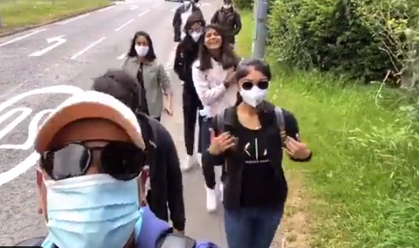Indian women's team spends a day out in Bristol ahead of series vs England