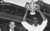 On this day in 1975, West Indies won its first edition of the World Cup