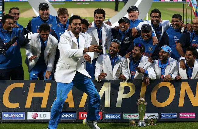 On this day in 2013, India beat England to win the ICC Champions Trophy