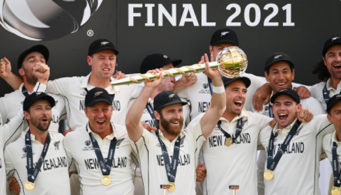 BlackCaps to parade the country with the WTC mace