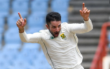 Watch: Keshav Maharaj delivery that brought him a historic hat-trick