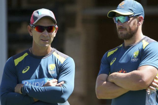 Aaron Finch backs Langer, says he has their 100 per cent support