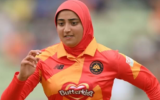 Abtaha Maqsood breaks stereotypes, plays with hijab in The Hundred