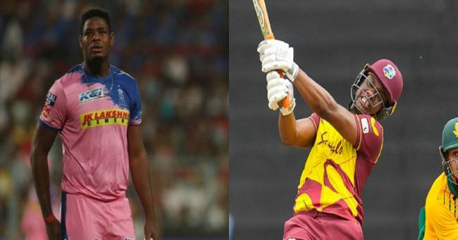 Rajasthan Royals announce Evin Lewis & Oshane Thomas as replacement